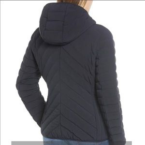 Micheal Kors Missy Stretch Packable Down Coat